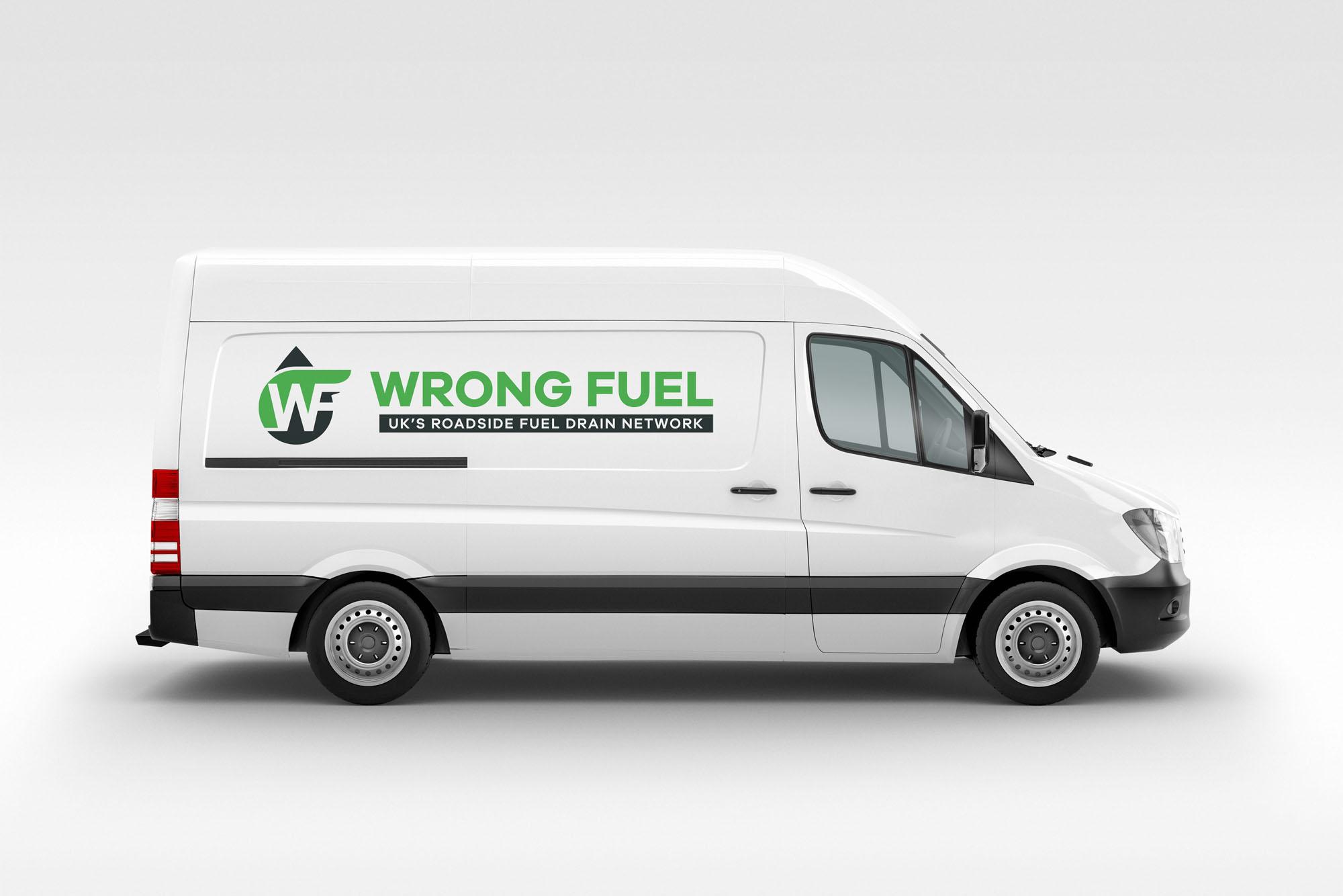 Wrong Fuel van
